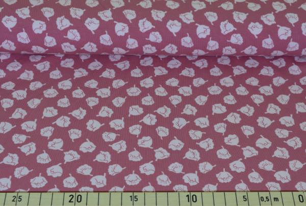 Pastell - Blüten (lachs klein) - A428