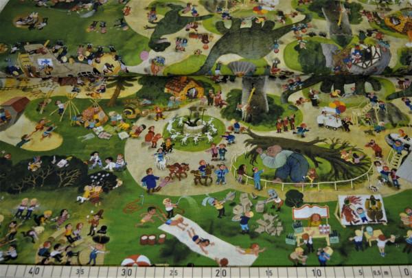 Wimmelbuch (Spielplatz) - A394 (Baumwolle)