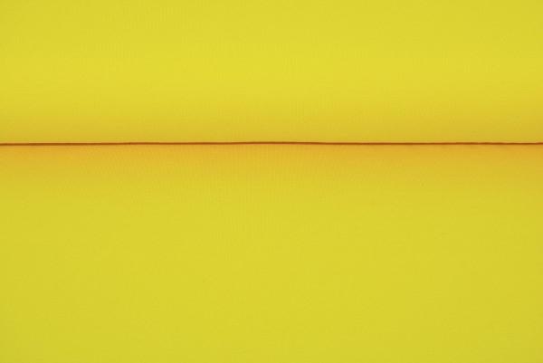 Baumwoll Jersey uni (gelb) - 1150