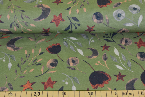 Sternblume (grün) - B808