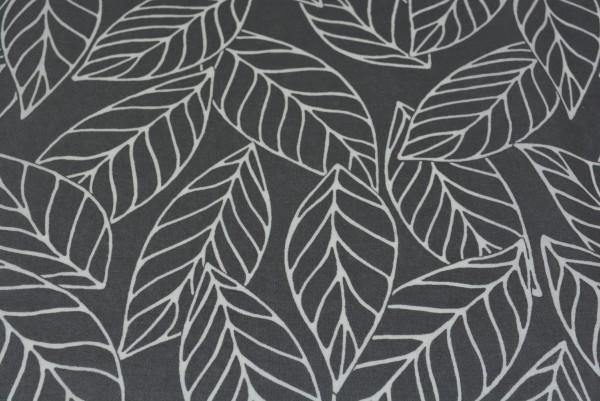 Blätter (grau) - X012