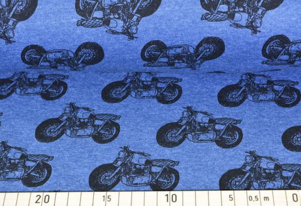 Motorcycles (blau) - B925