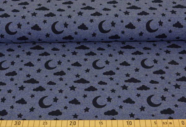 Luna (blau meliert) - B582