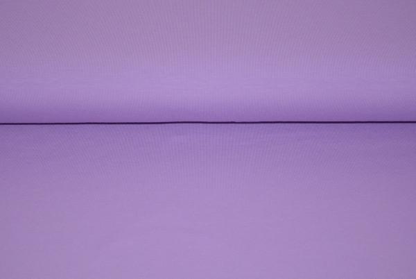 Baumwoll Jersey uni (lila) - 3520