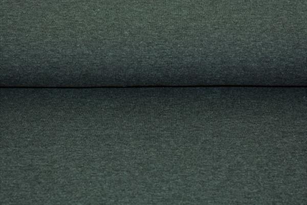 Baumwoll Jersey uni (dkl. grau meliert) - 0290