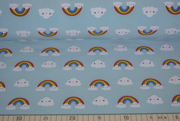 Regenbogenwolke (mint) - B481