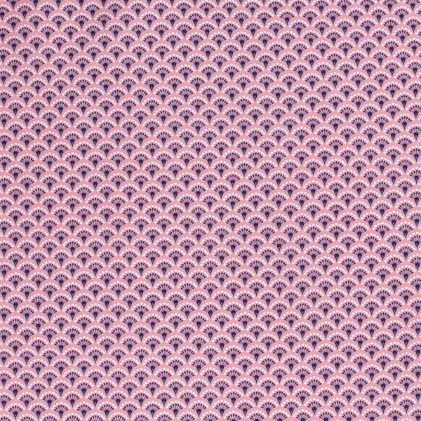 Aurelia - Z1333, Glünz GmbH, Baumwolle, Pink, Floral, abstrakt