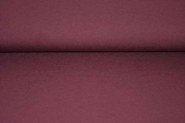 Baumwoll Jersey uni (Bordeaux) - 2170