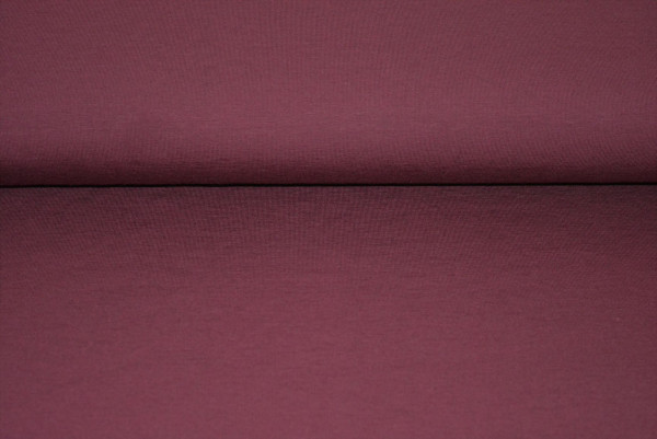 Baumwoll Jersey uni (bordaux) - 2170