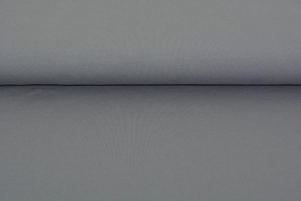 Baumwoll Jersey uni (grau) - 0260